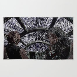 Han and Chewie Rug