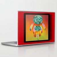 dreamcatcher Laptop & iPad Skins featuring Dreamcatcher by Ganech joe