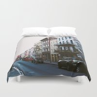new orleans Duvet Covers featuring New Orleans by Alden Terry