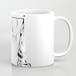 Rabbit Woman Coffee Mug