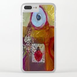 On Mug and Rug - Travel Bug meets Travel Bag Clear iPhone Case