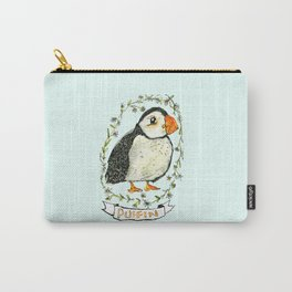 Mint Puffling Carry-All Pouch