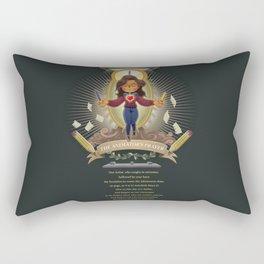 The Animator's Prayer Rectangular Pillow