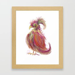 Fab Bird Framed Art Print