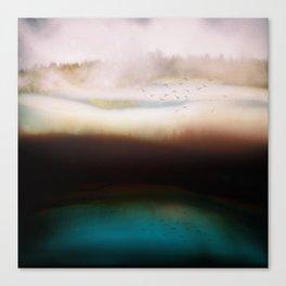 Winters Dusk Canvas Print