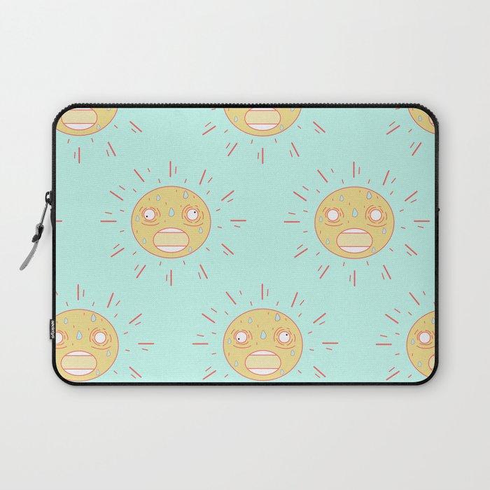 Upset Suns Laptop Sleeve