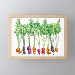 Funky Vegetables Framed Mini Art Print