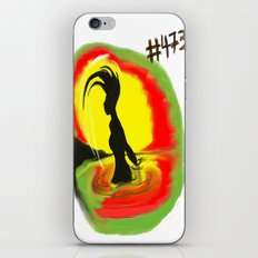 Woman, #473 iPhone & iPod Skin
