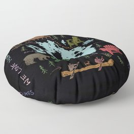 Muskoka Floor Pillow