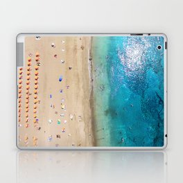 AERIAL. Summer beach Laptop & iPad Skin