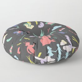 Myths // traditions pattern Floor Pillow