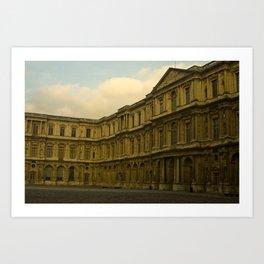 Palais du Louvre Art Print