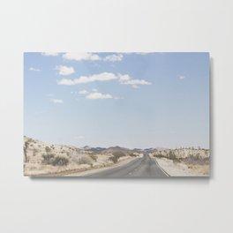 The Mojave Metal Print