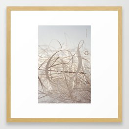 Sensual Scrap Framed Art Print
