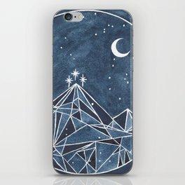 Night Court moon and stars iPhone Skin