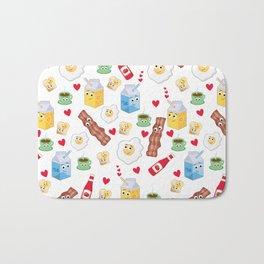 Breakfast in Love Bath Mat