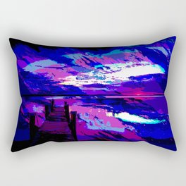 who was dragged down by the stone? Rectangular Pillow