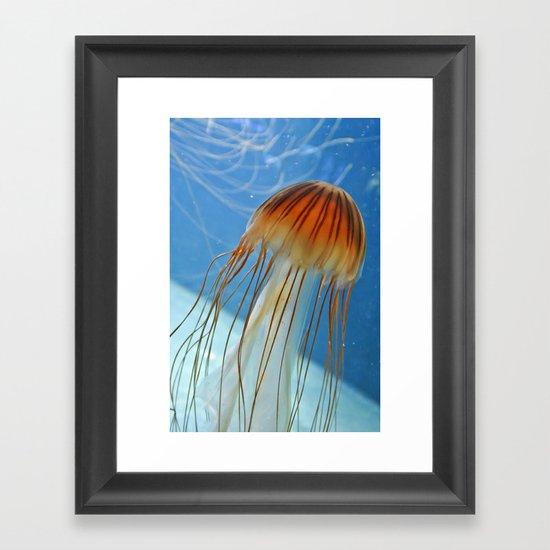 Jelly phone. Framed Art Print