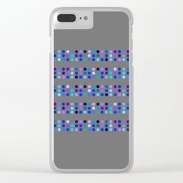 Mozaik v.2 Clear iPhone Case