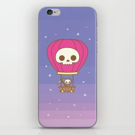 Hot Air Balloon Rides with the Reaper iPhone Skin