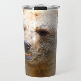 Syrian Brown Bear Travel Mug