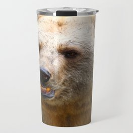 Syrian Brown Bear Travel Mug