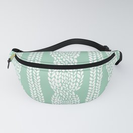 Cable Mint Fanny Pack