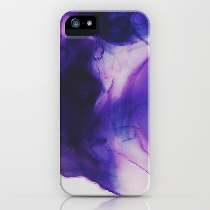 Violet Aura iPhone Case