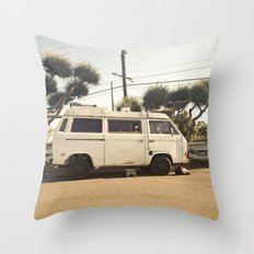 Vanlife  Throw Pillow