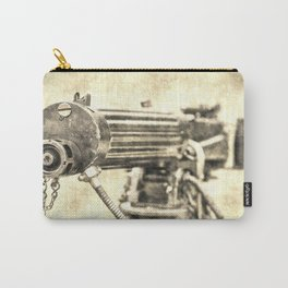 Vickers Machine Gun Vintage Carry-All Pouch