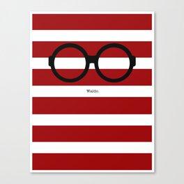 Where's Waldo Canvas Print