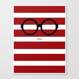 Where's Waldo Canvas Print