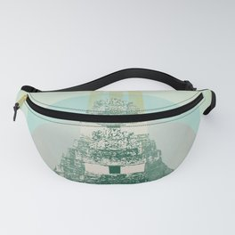 MAYAN TEMPLE Fanny Pack