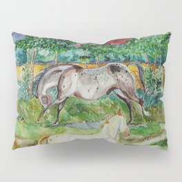 Two Appaloosas Pillow Sham