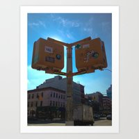 These Tings Take Time Spotted NYC Art Print