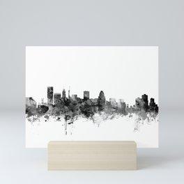 Baltimore Maryland Skyline Mini Art Print