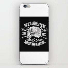 Skull symbol iPhone Skin
