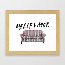 Stray Kids Hellevator - Sofa Framed Art Print