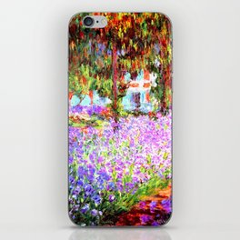 Monets Garden in Giverny iPhone Skin