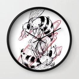 Bee Gem Wall Clock