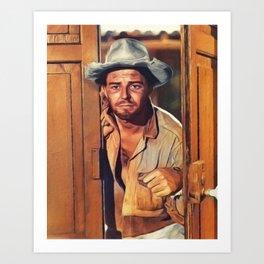 Gerard Philipe, Vintage Actor Art Print