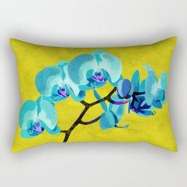 Orchid blue Rectangular Pillow