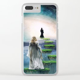 Journey to Happiness Clear iPhone Case