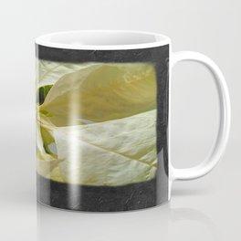 Pale Yellow Poinsettia 1 Blank P4F0 Coffee Mug