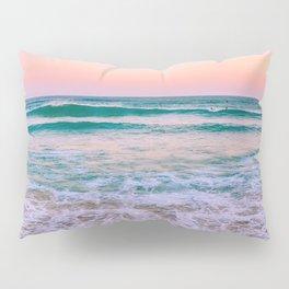 Ocean and Sunset Needed Pillow Sham