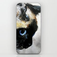 Siamese Cat Right Side Tapestry iPhone Skin