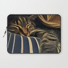 Sleepy Kitty Laptop Sleeve