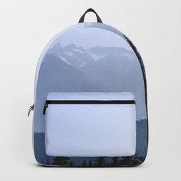 Mount Rainier Summer Adventure VIII - Pacific Northwest Mountain Landscape Backpack