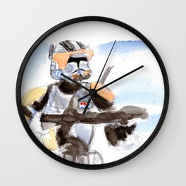 Commander Cody Wall Clock