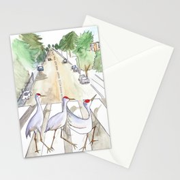 Abbey Cranes Stationery Cards